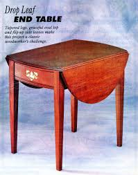 drop leaf end table drop leaf end table plans woodarchivist