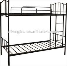 Modern Furniture Metal Double Bunk Beds  Simple Design School - Steel bunk beds