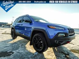 jeep trailhawk blue new 2018 jeep cherokee trailhawk leather plus 4x4 nav for sale