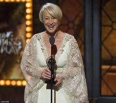 tony awards 2015 sees helen mirren pick up her second major gong