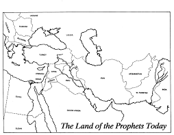 Babylonian Empire Map Prophets General Prophecy And Renewal
