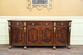 Gold Dining Room by Mahogany Sideboard With Gold Leaf Accents For The Dining Room