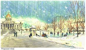coming soon an ice rink on the statehouse lawn vermont public radio