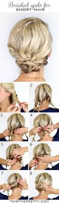 how to braid short hair step by step diy bohemian braids twist me pretty