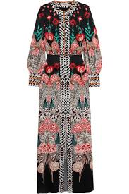 temperley london temperley london blaze printed silk satin gown net a porter
