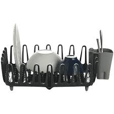 lakeland 25067 ilo clam shell small compact dish drainer rack