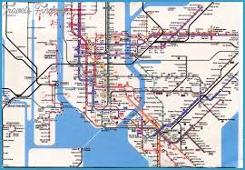 map of ny subway new york metro map travelsfinders