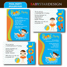 pool party invitation templates pool party ideas and graphics