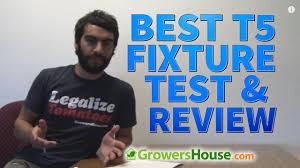 t5 fluorescent grow lights review best t5 ho fluorescent fixture comparison test and review of 4 x 8