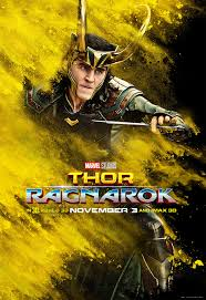 thor ragnarok character posters splash color movie