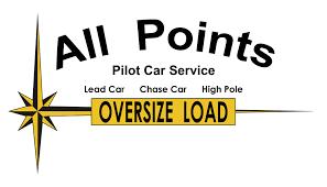 car service logo all points pilot car service azlogistics com