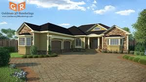 3d house builder 3d exterior architectural renderings for new construction goldman