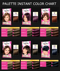 Black Hair Color Chart Hair Color Shades