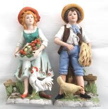 homco farm boy figurine 1888 farm boys farming and boys