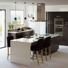 alinea cuisine lys cuisine avec lot central 43 id es inspirations kitchens ilot table