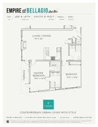 Bellagio Floor Plan Floor Plans U2014 Empire At Bellagio