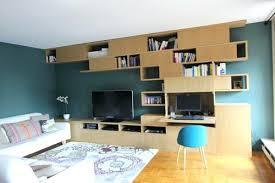 bibliothèque bureau intégré bibliothaque bureau integre bibliotheque bureau integre design