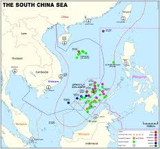 South China Sea On Map by Nine Dash Line A South China Sea Matrix Game Paxsims