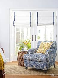 How To Make Roman Shades For French Doors - add color to white chair upholstery white fabrics and side ties