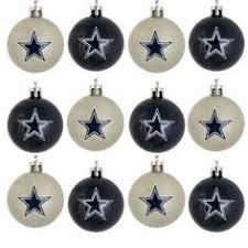 dallas cowboys 5 pack shatterproof ornament set kowboje