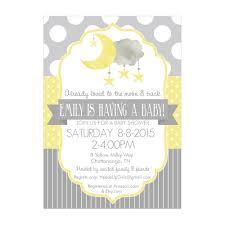 yellow and gray baby shower invitations u2013 gangcraft net