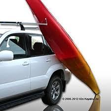 porta kayak per auto ruk sport portapacchi allungabile per facilitare il sollevamento