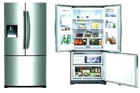 cabinet depth refrigerator lowes lowes french door refrigerator mesmerizing stainless steel
