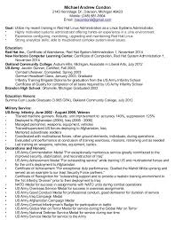 Orthodontic Resume Linux System Administration Sample Resume 17 For Administrator