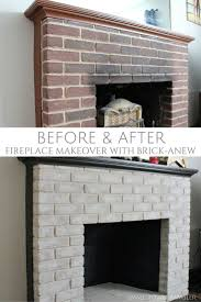 awesome updating a brick fireplace have baeaaaabbfbbcd fireplace
