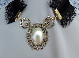 victorian necklace black images The victorian choker necklace by 2ndwindaccessories jpg