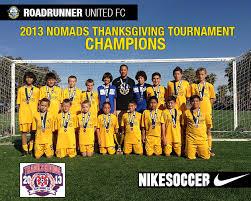 soccer roadrunner united fc oro wins prestigious nomads
