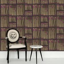 Book Wallpaper by Ex Libris 77 11043 Fornasetti Cole U0026 Son