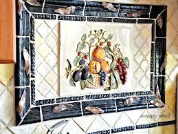kitchen hand painted tiles kitchen backsplash with gallery pictur