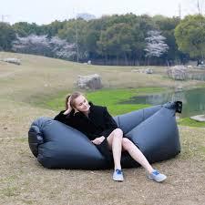 Bean Bag Sofas by Fast Inflatable Air Bag Sofa Camping Bed Hangout Bean Bag Sleeping