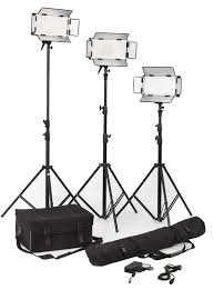 led studio lighting kit black daylight led studio lighting kits high brightness high cri