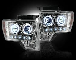 2012 ford f150 projector headlights recon part 264190cl ford raptor ford f150 09 12 projector