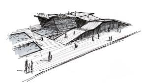 architectural sketch by bozwolfbros on deviantart