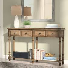 Distressed Sofa Table by Console Tables Birch Lane