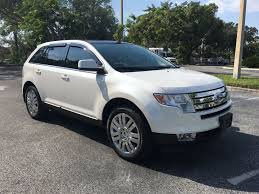 pre owned 2010 ford edge limited with panoramic moonroof station