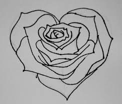 attempt of rose heart drawing nickicolem 2018 sep 5 2010