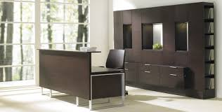 Commercial Reception Desks by Commercial Desk And Storage Set Foundations Teknion