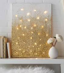 diy craft ideas for home decor 40 brilliantly gold diy projects teen apartment gold diy and