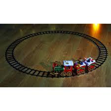 xmas musical train set