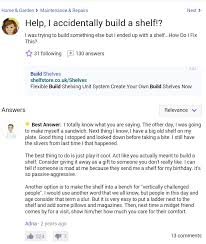Help I Accidentally Build A Shelf Know Your Meme - this will always be my favourite question on yahoo answers rebrn com
