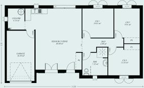 plan maison 90m2 plain pied 3 chambres plan maison plain pied 90m2 fresh plan maison plain pied 90m2 3