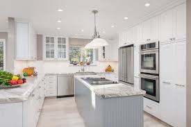 L Shaped Kitchen Island White Kitchen White Floor White Kitchen Island Design Ideas L