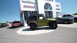 2007 green jeep wrangler 2007 jeep wrangler x rescue green metallic 7l121160 mt