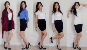 casual pencil skirt lookbook stylish simple chic ft black pencil skirt