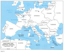Printable Europe Map by Map Of Western Europe