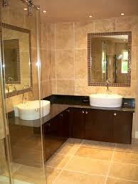 bathroom astounding hammered copper double bowl drop corner sink
